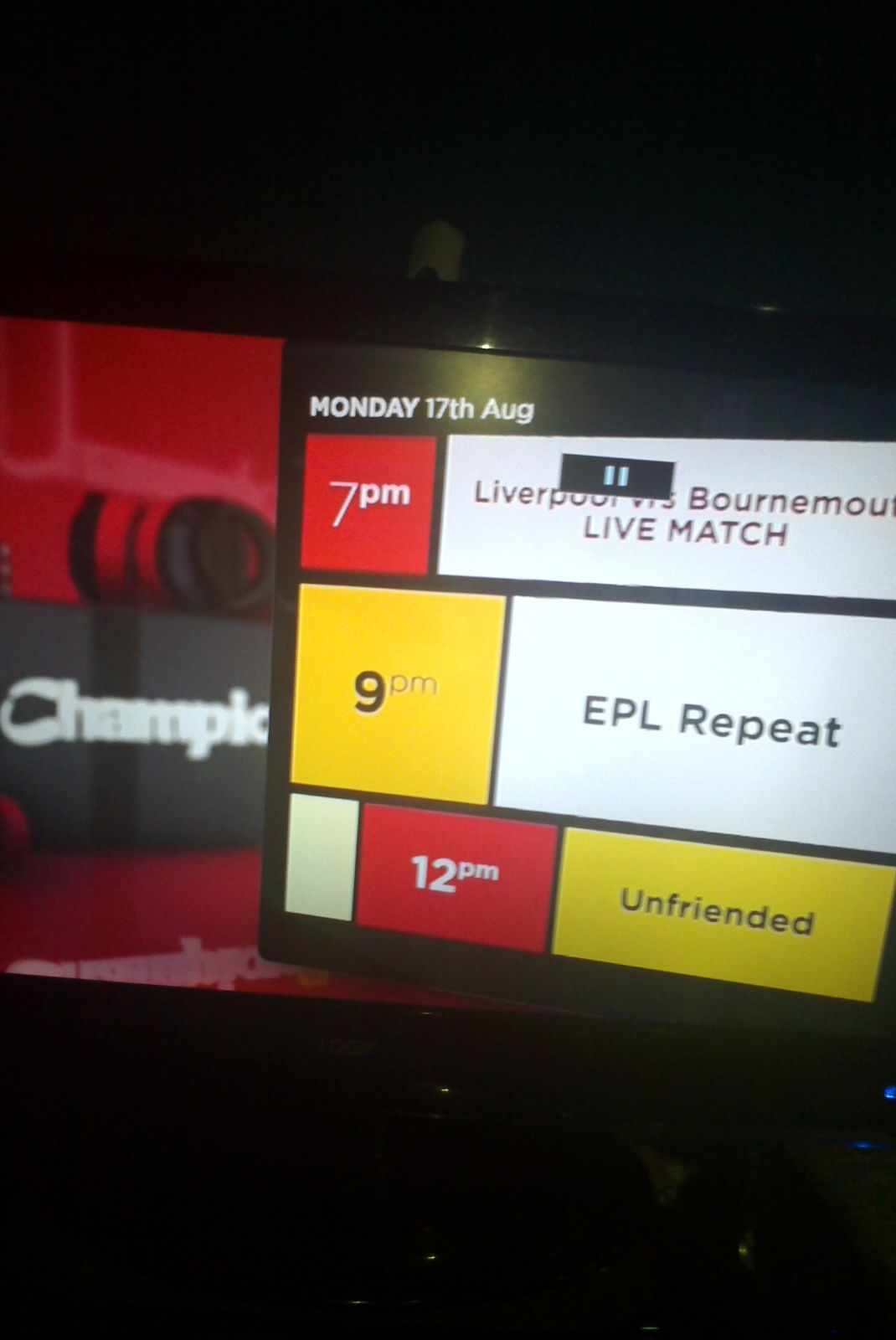 Champion TV Decoder – Your Key To Live Football Matches